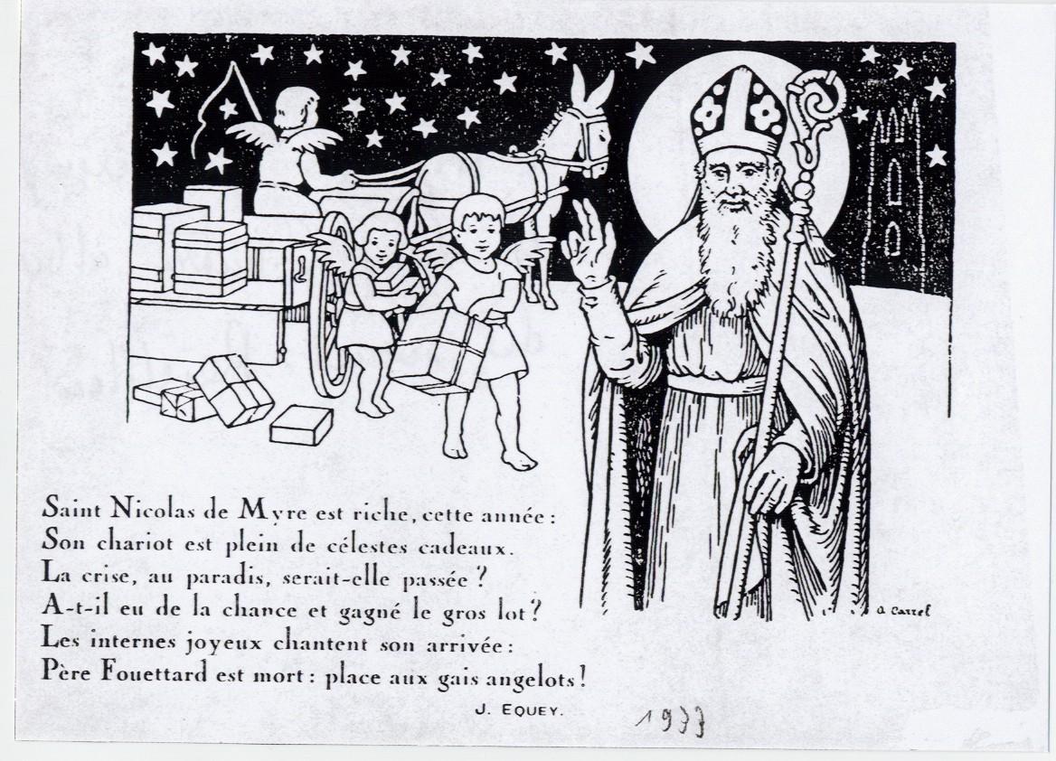 1933 2 Les Cartes De La St Nicolas
